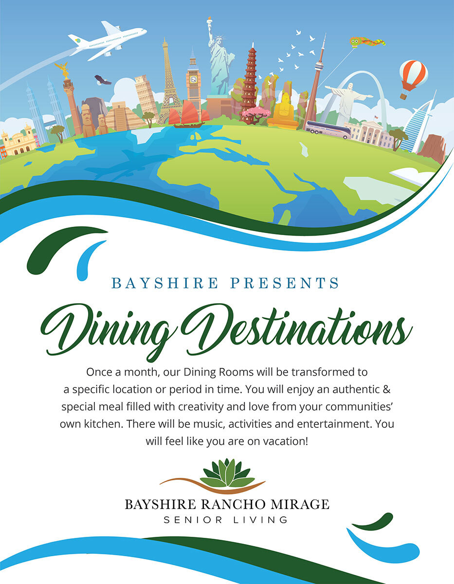 Bayshire Presents Dining Destinations